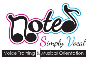 Noted,Simply, Vocal, Logo, Simone, Venter, Singing, lessons, coach, training,